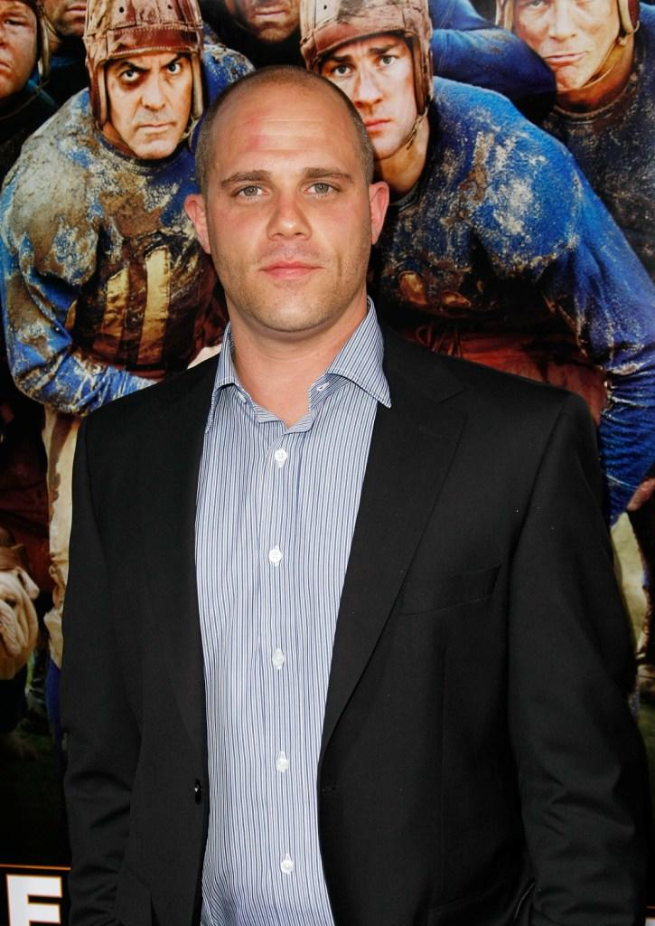 Matt Bushell at the premiere of