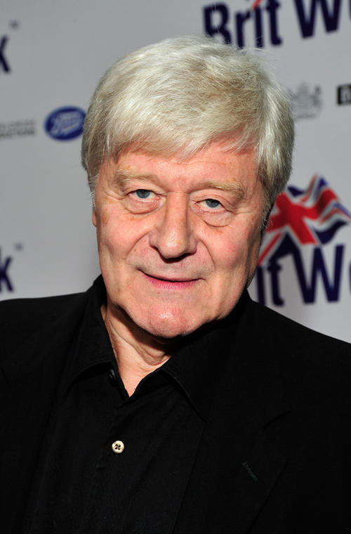 Martin Jarvis at the official launch of BritWeek 2012 in California.