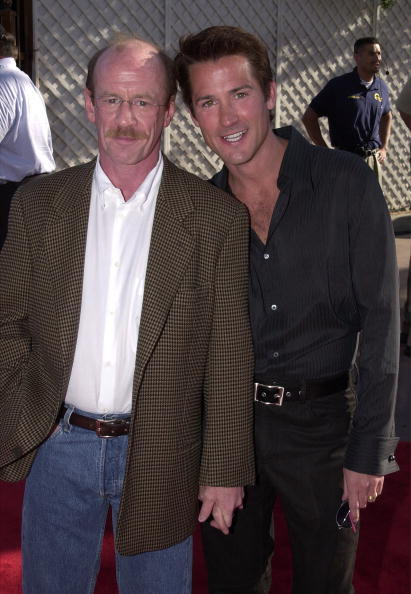 Michael Jeter and Sean Blue at the California premiere of