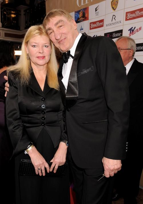 Barbara and Gottfried John at the Diva Entertainment Awards.