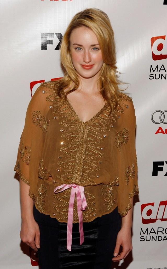 Ashley Johnson at the premiere of