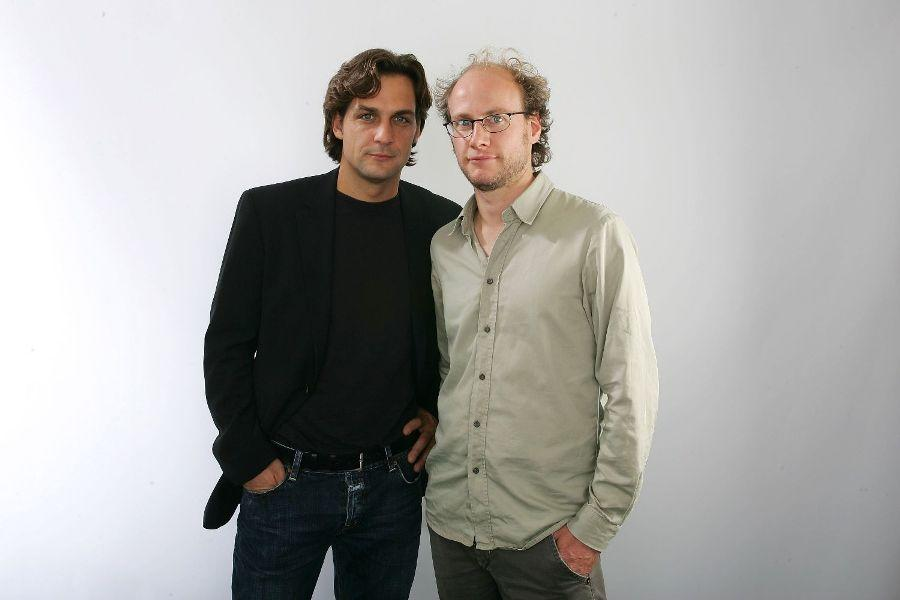 Robert Seeliger and Stefan Krohmer at the Toronto International Film Festival.