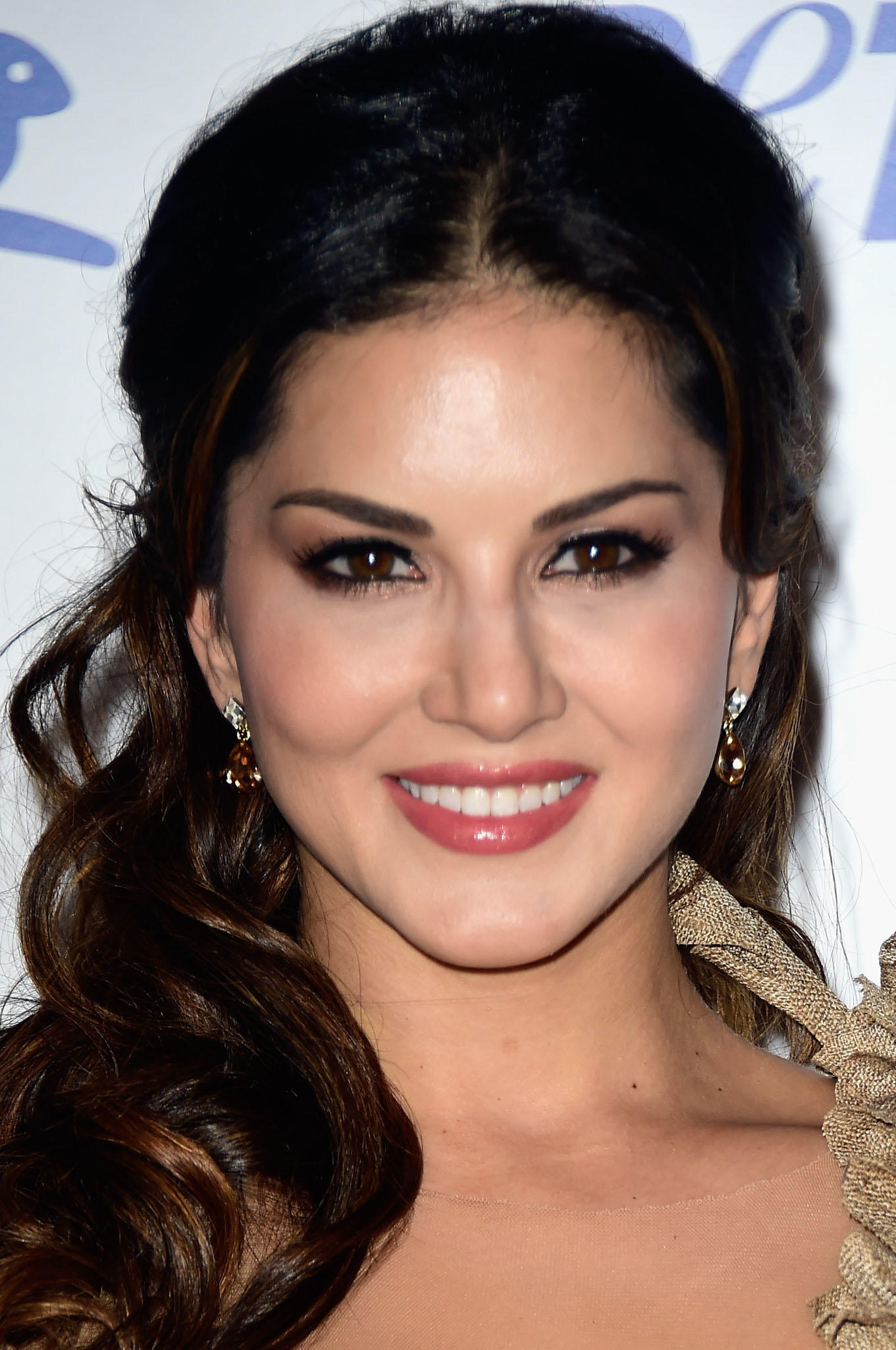 Sunny Leone at PETA's 35th Anniversary Party in Los Angeles.