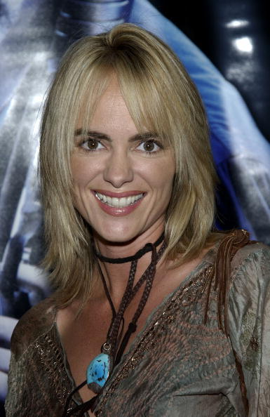 Michelle Johnson at the Hollywood premiere of