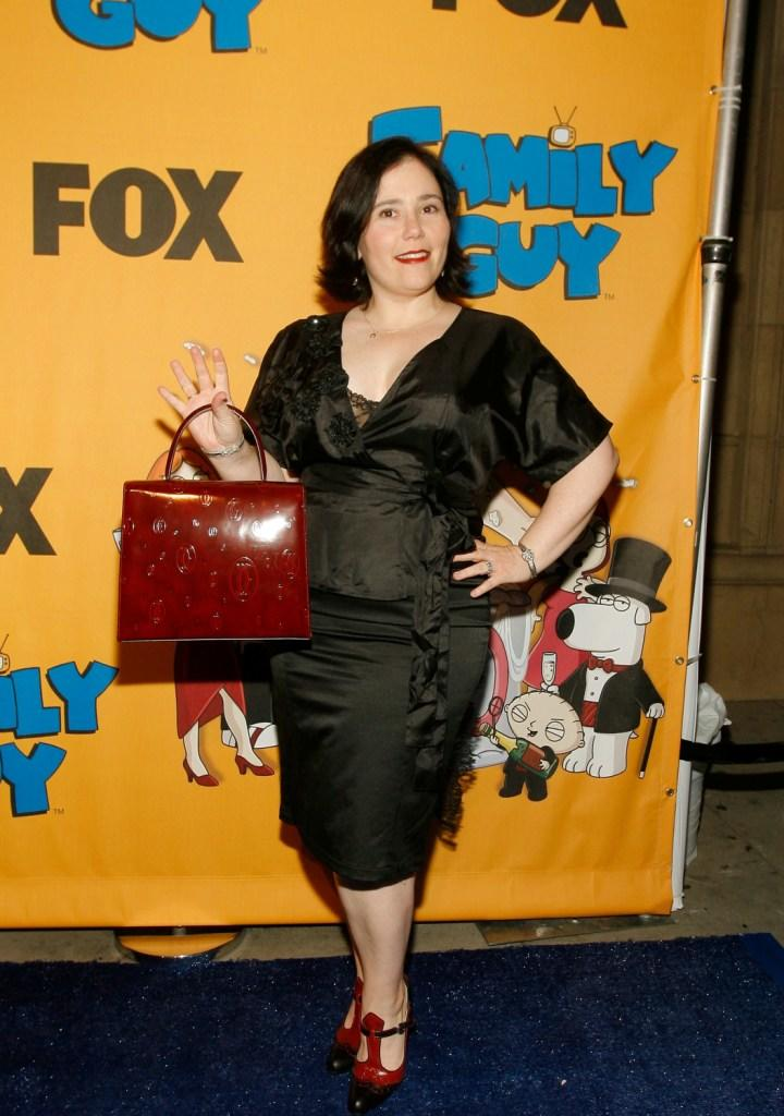 Alex Borstein at the Family Guys 100th Episode party.