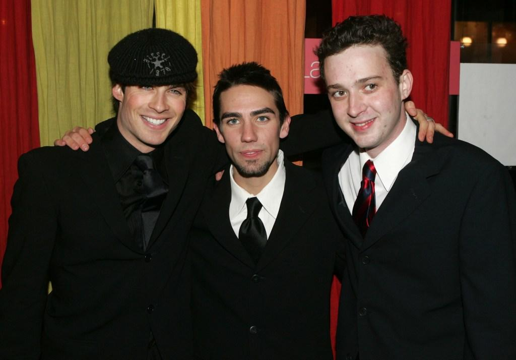 Ian Somerhalder, Keith Nobbs and Eddie Kaye Thomas at the after party of the opening night of