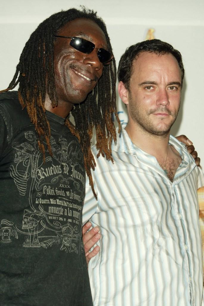 Boyd Tinsley and Dave Matthews at the