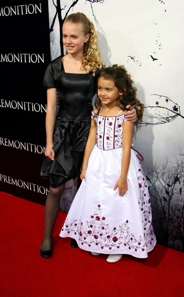 Courtney Taylor Burness and Shyanna McClure at the premiere of