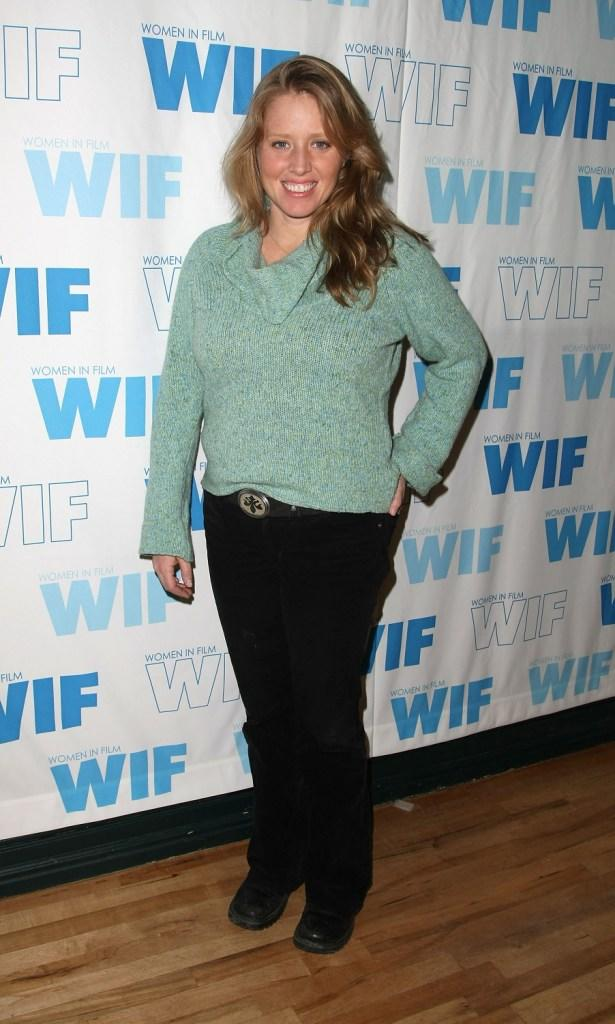 Amy Redford at the Women in Film panel during the 2008 Sundance Film Festival.