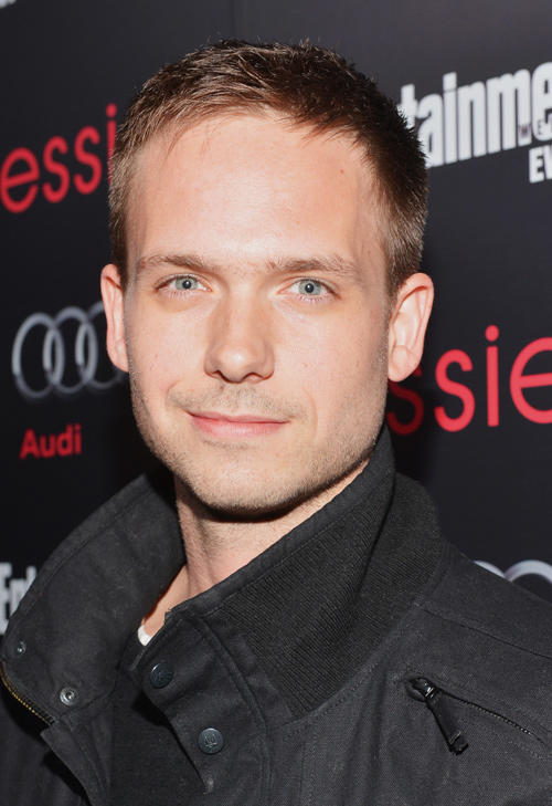 Patrick J. Adams at the Entertainment Weekly Pre-SAG party.