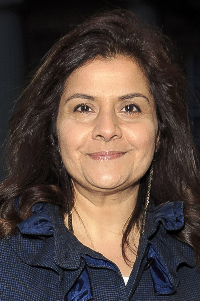 Nina Wadia at the launch event for the UK-India Year of Culture in London.