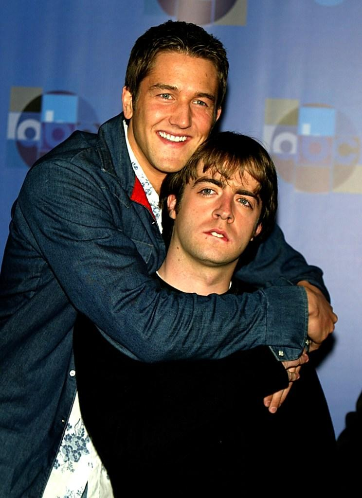 Josh Braaten and Derek Waters at the 2004 TCA Winter Tour during the ABC-TV's All-Star Party.