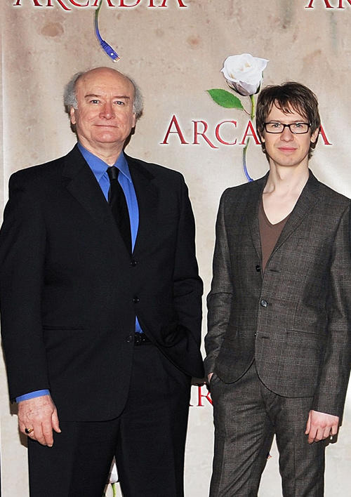 Edward James Hyland and David Turner at the photocall of