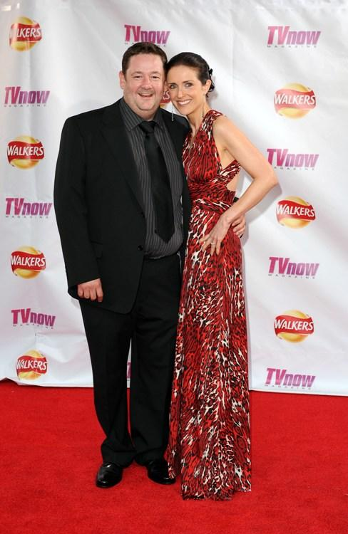Johnny Vegas and Guest at the TV Now Awards.