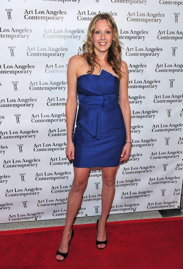 Deja Kreutzberg at the 1st Annual Art Los Angeles Contemporary Opening Night Gala.