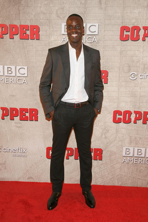 Ato Essandoh at the New York premiere of