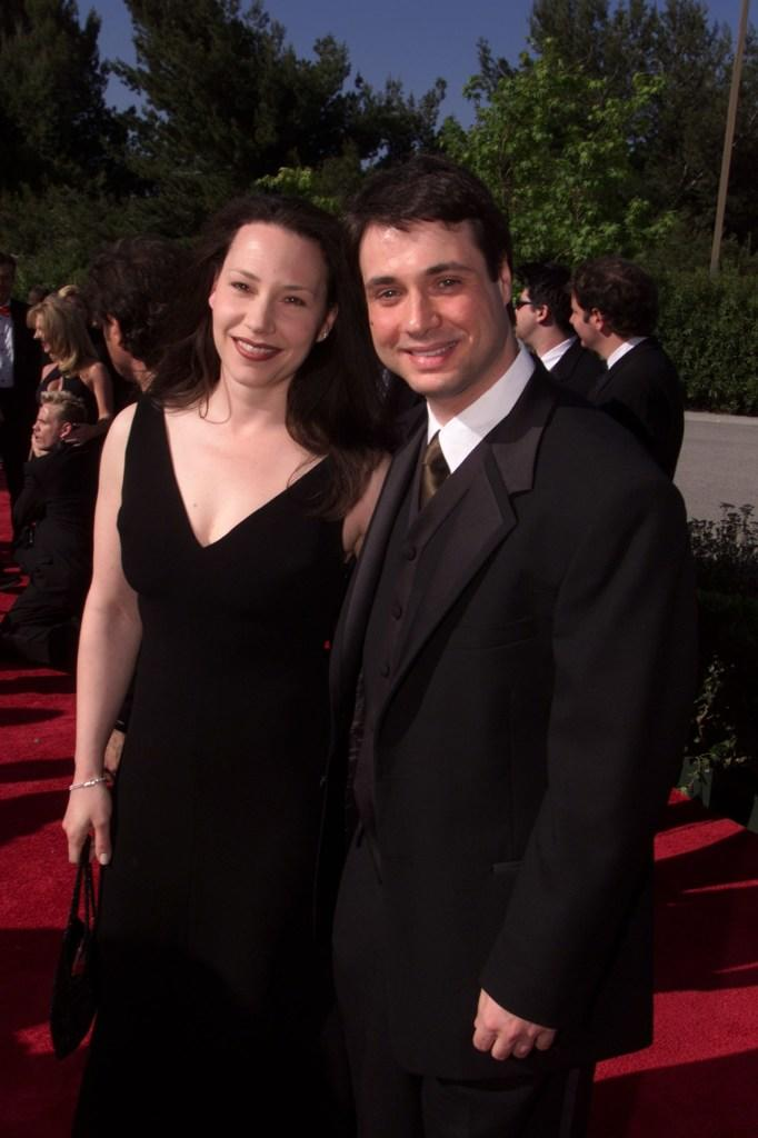 Maura Tierney and Adam Ferrara at the 15th Annual American Comedy Awards.