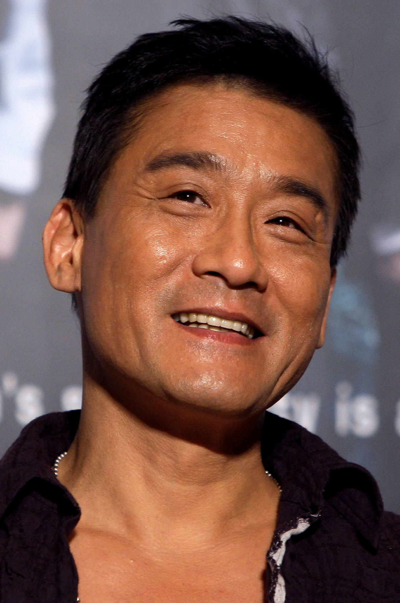 Tony Leung Ka-Fai at the press conference for