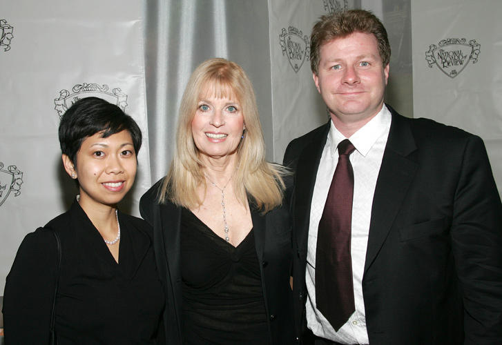 Producers Michelle Sy, Nellie Bellflower and David Magee at the National Board of Review Annual Gala 2005 in New York.