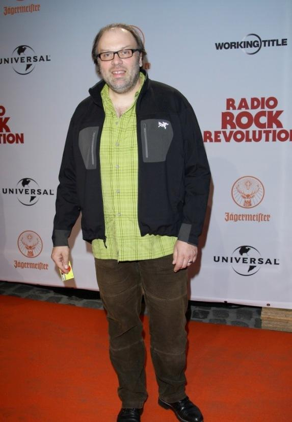 Waldemar Kobus at the premiere of