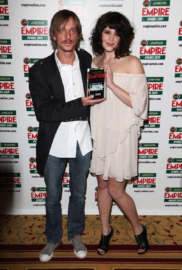 Mackenzie Crook and Gemma Arterton at the Jameson Empire Awards 2009.