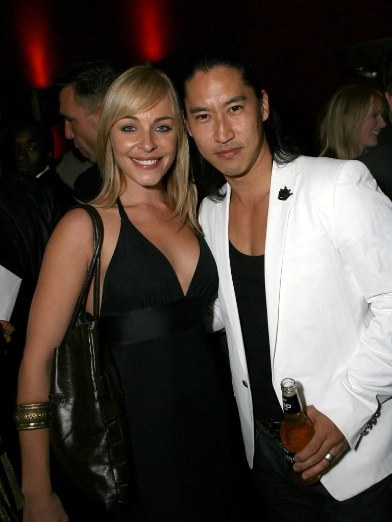Tory Mussett and Masa Yamaguchi at the after party of the special screening of