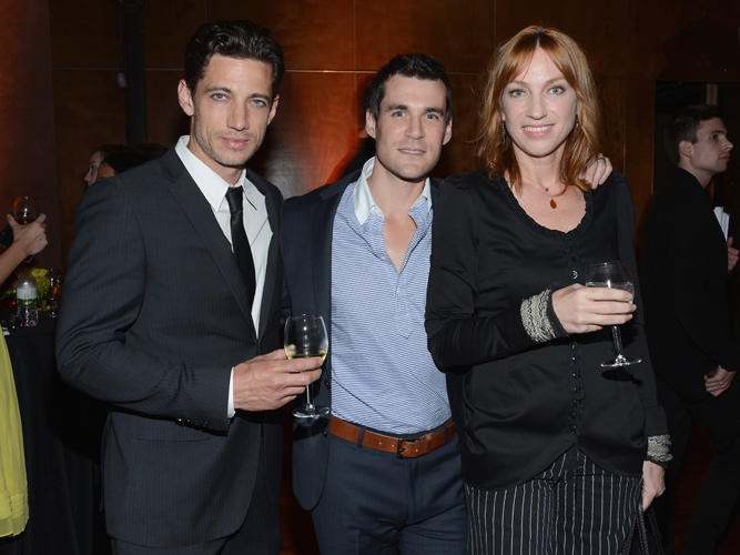 James Carpinello, Sean Maher and Kai Cole at the California screening of