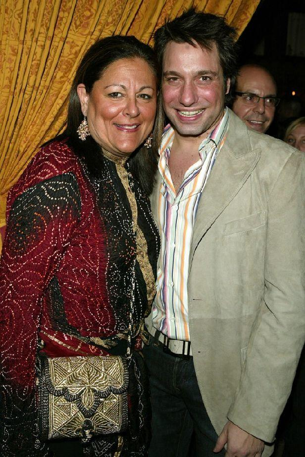 Fern Mallis and Thom Filicia at the Olympus Fashion week launch party.