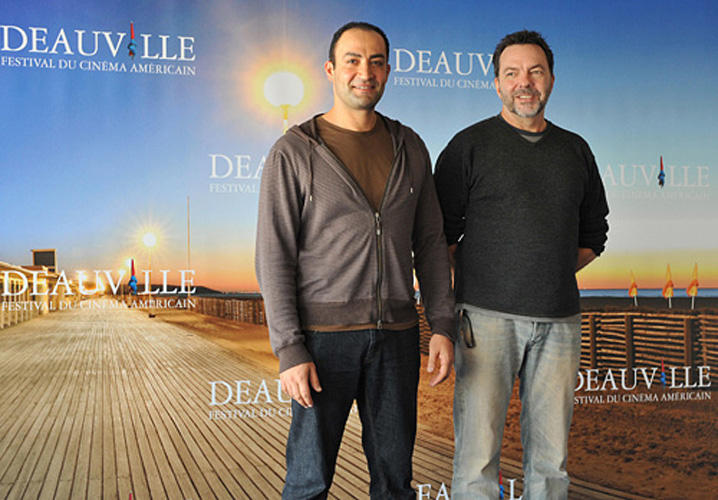 Peter Macdissi and director Alan Ball at the photocall of