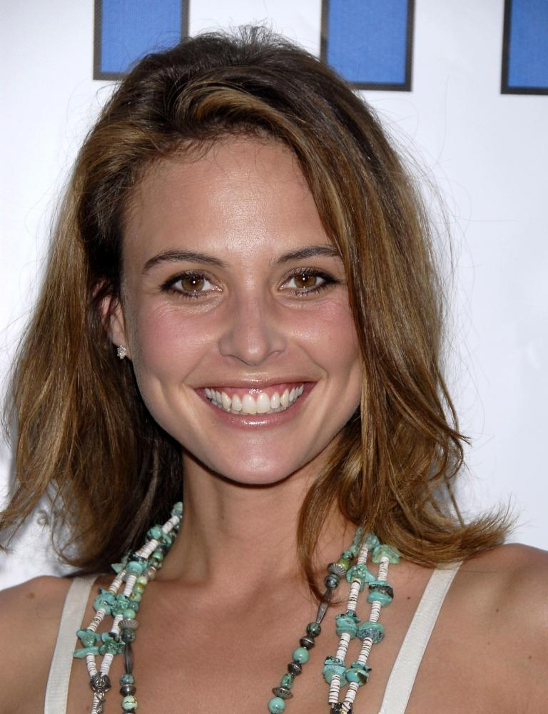 Josie Maran at the premiere of
