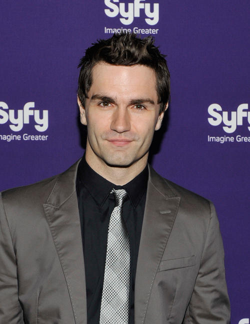 Sam Witwer at the Syfy 2012 Upfront Event in New York.