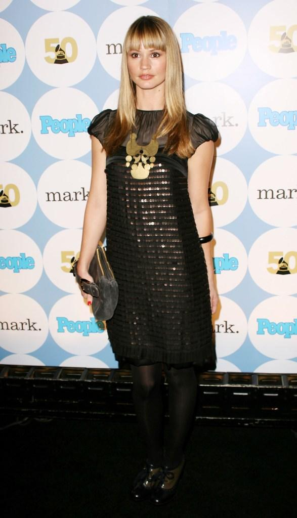 Cameron Richardson at the People Magazines Official GRAMMY Kick-Off Party.