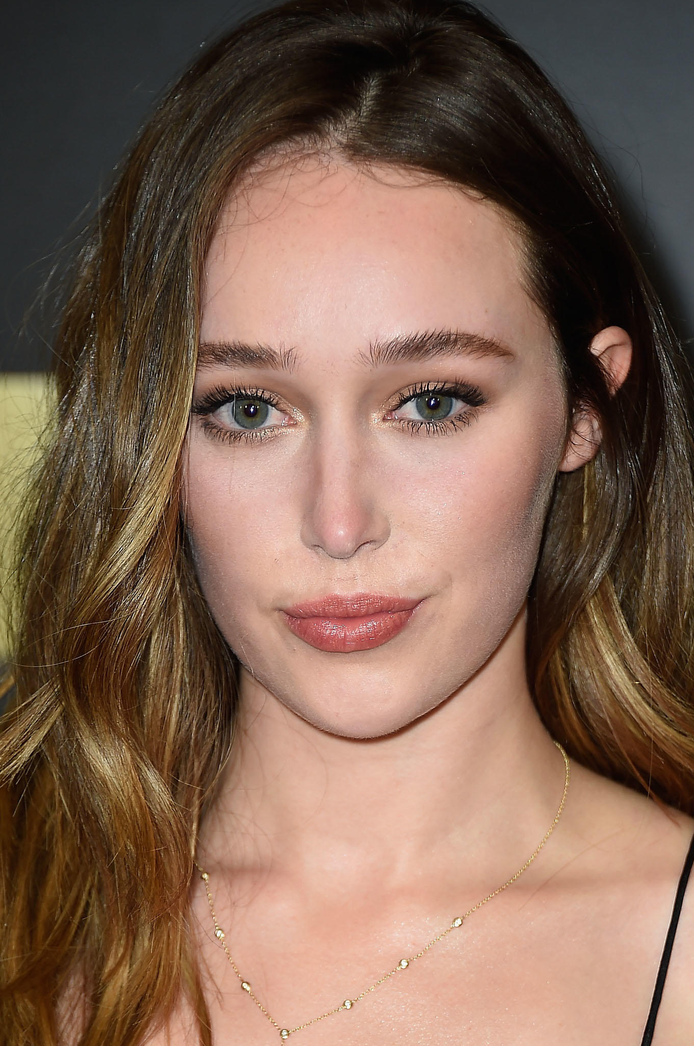 Alycia Debnam-Carey at the premiere of