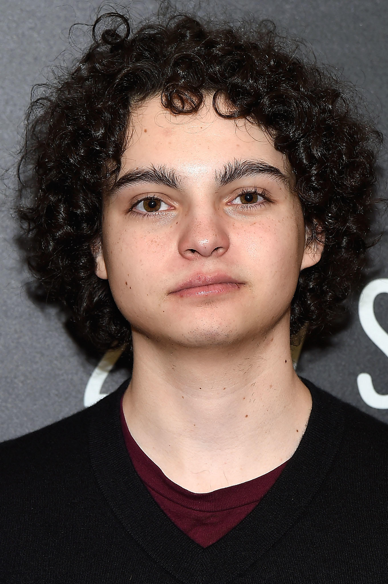 Max Burkholder during the 2017 Sundance Film Festival.
