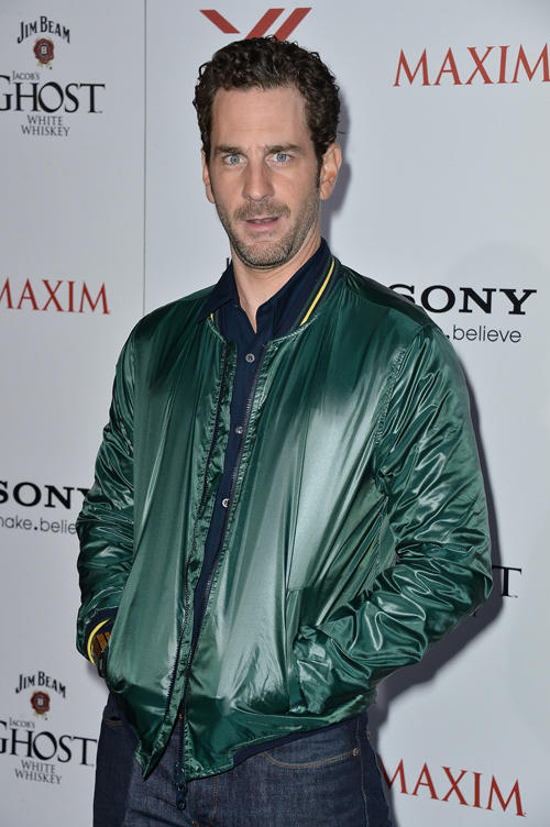 Aaron Abrams at the Maxim Hot 100 Party in California.