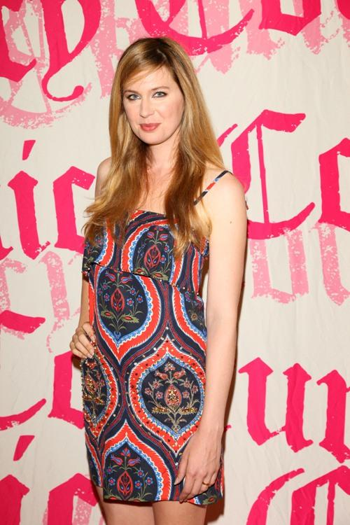 Anne Dudek at the opening of Juicy store in Toronto.