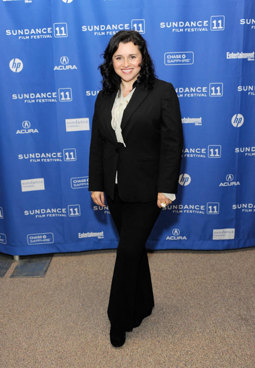 Michelle Arthur at the premiere of