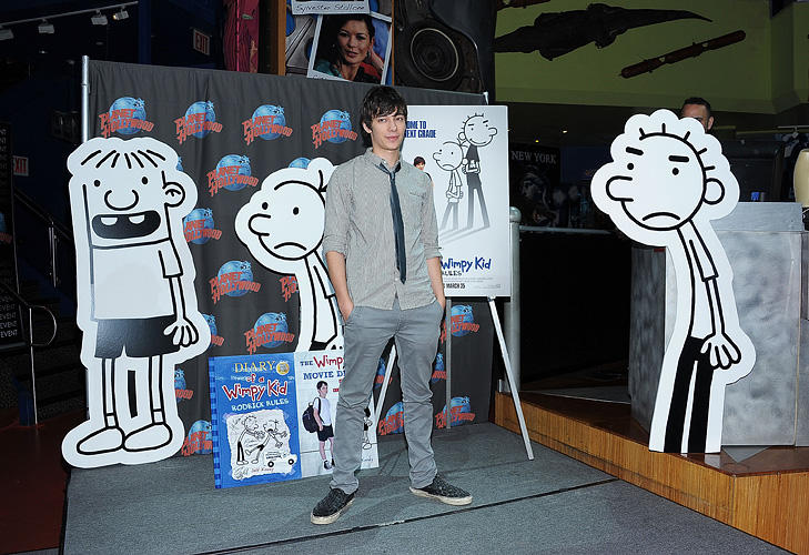 Devon Bostick at the New York premiere of