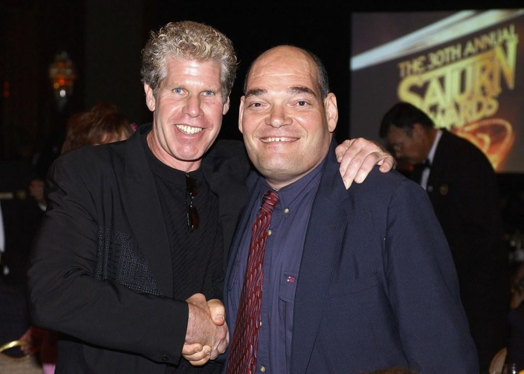 Ron Pearlman and Irwin Keyes at the 30th Annual Saturn Awards.