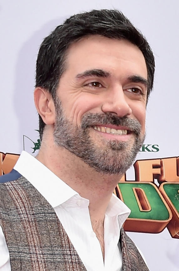Alessandro Carloni at the premiere of DreamWorks Animation and Twentieth Century Fox's 'Kung Fu Panda 3'.