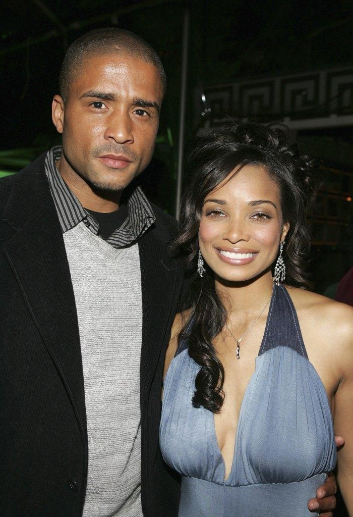 Ivory Hunter and Rochelle Aytes at the after party of the premiere of