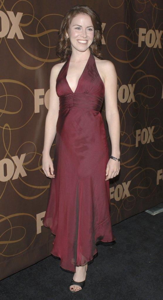 Crista Flanagan at the Fox Winter TCA Party.