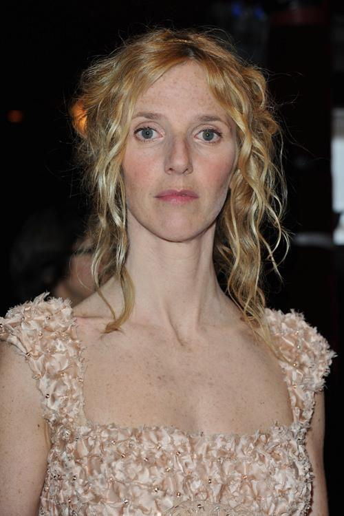 Sandrine Kiberlain at the 35th Cesar Film Awards.