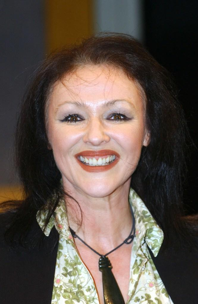 Frances Barber at the London photocall of