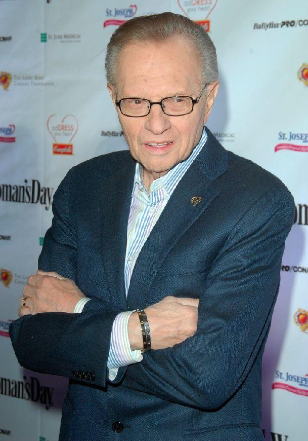 Larry King at the 6th Annual Woman's Day Red Dress Awards.
