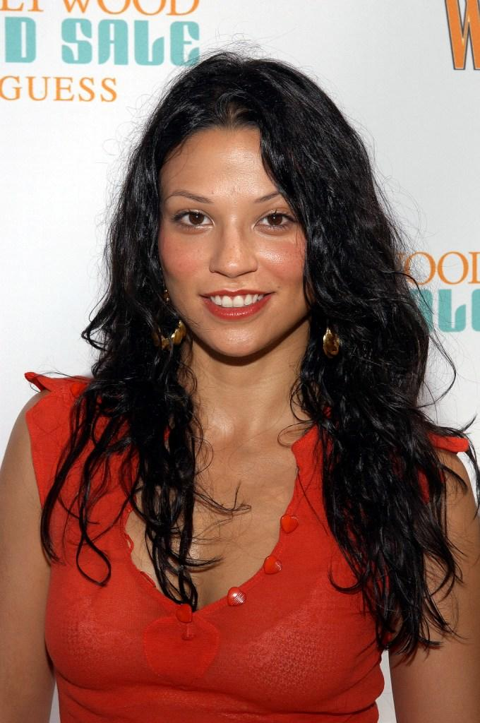 Navi Rawat at the W Hollywood Yard Sale Preview Brunch.
