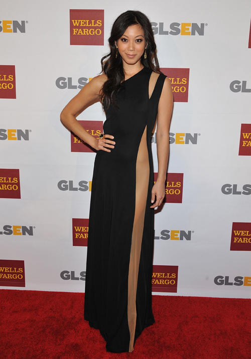 Brittany Ishibashi at the 8th Annual GSLEN Respect Awards.
