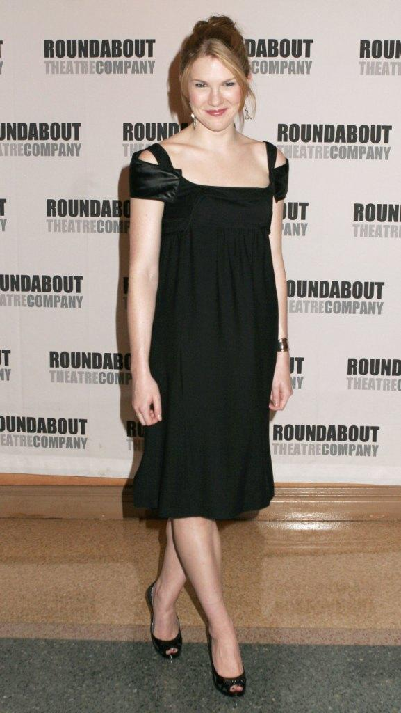 Lily Rabe at the Heartbreak House debut on Broadway.
