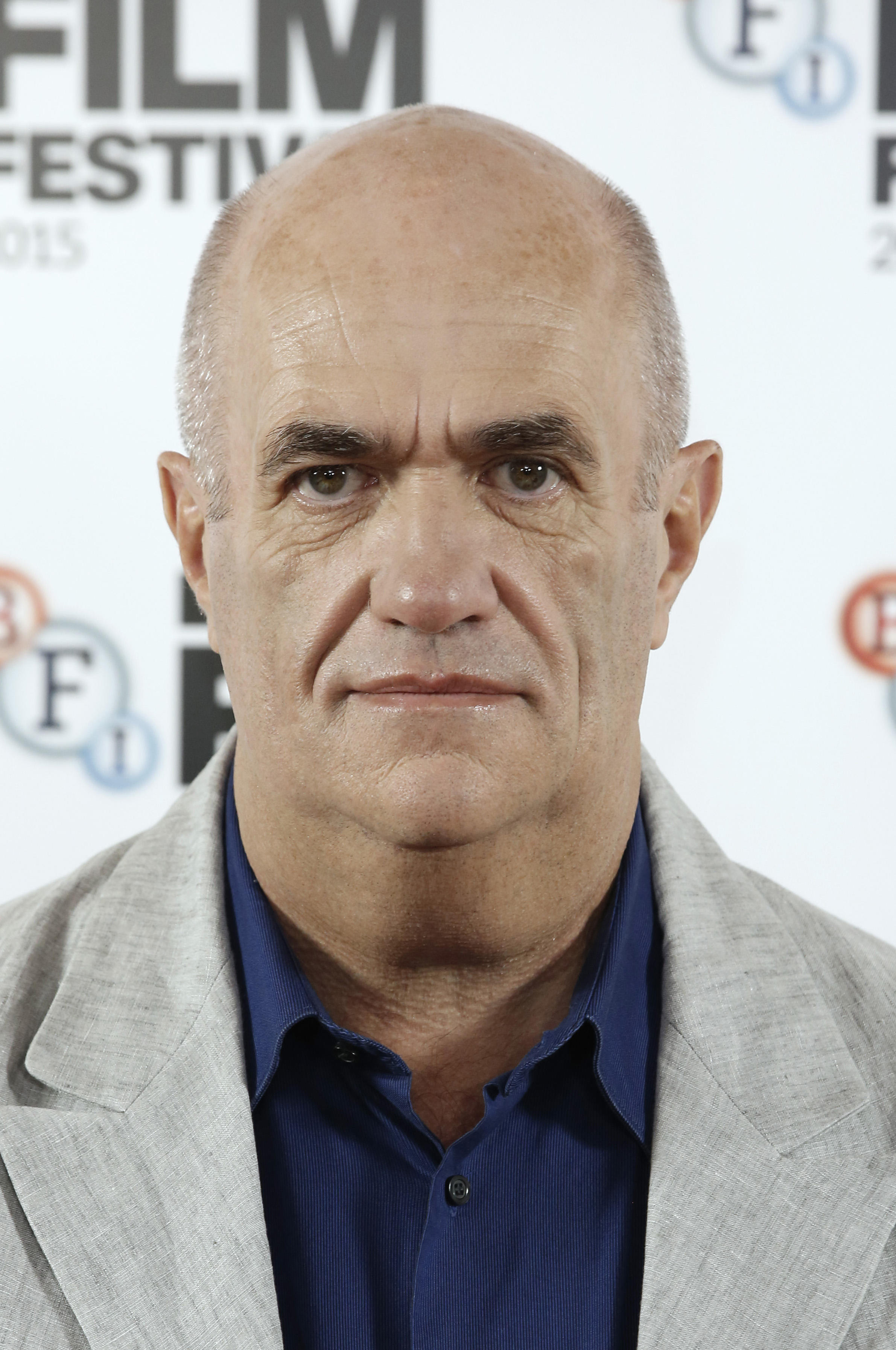 Colm Toibin at the photocall for 'Brooklyn' during the BFI London Film Festival.