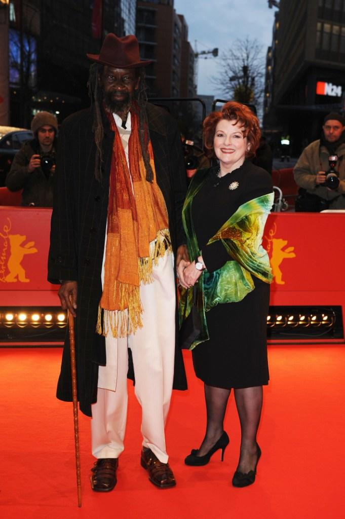 Sotigui Kouyate and Brenda Blethyn at the premiere of